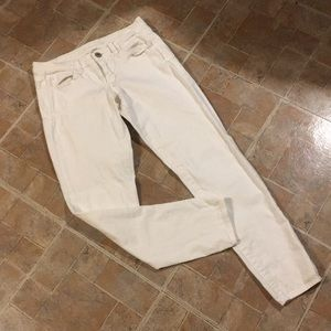 American Eagle white jeggings size women's 6